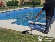 fugas de agua en piscinas malaga